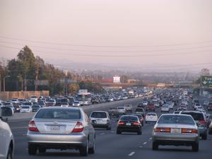Southern California Traffic--Photo from flickr.com/drb62