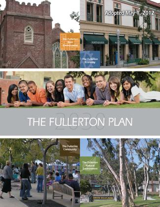 Fullerton Plan Cover