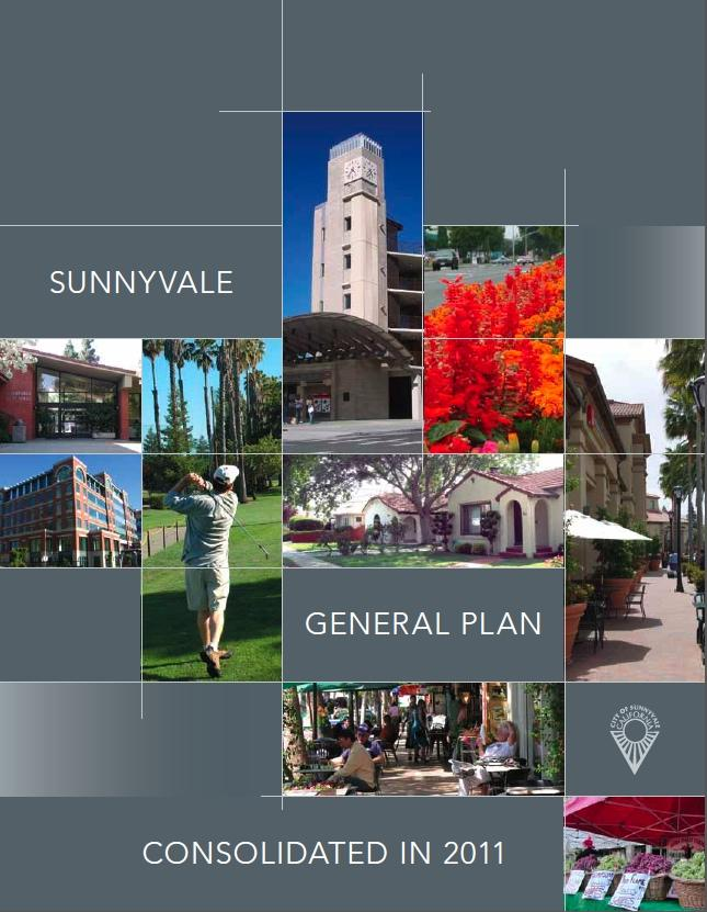 Cover of the Consolidated Sunnyvale General Plan